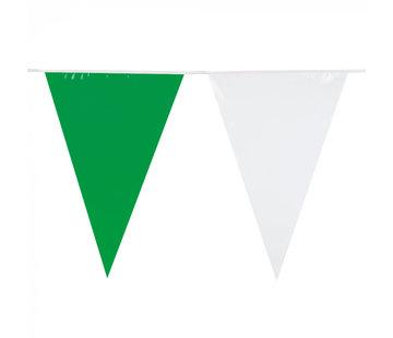 Wit-groene vlaggenlijn