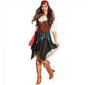 Dames piraten outfit