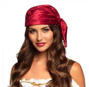 Rode piraten bandana