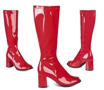 Retro laarzen rood