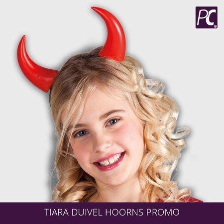 Tiara duivel hoorns
