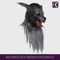 Weerwolven masker Weerwolf