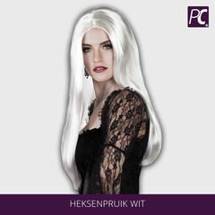 Heksenpruik Wit