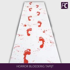 Horror bloederig tapijt