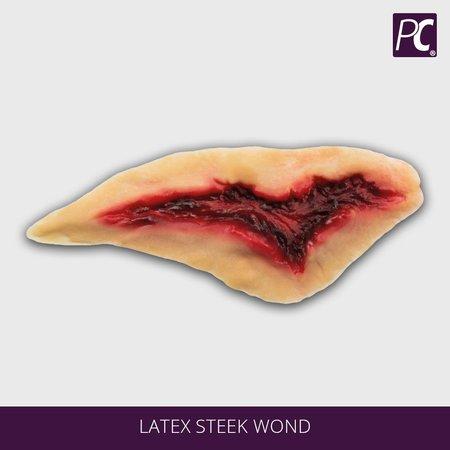 Latex steek wond