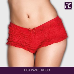 Hot pants rood