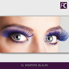 XL Wimpers Blauw