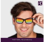 Party bril regenboog