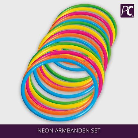 Neon Armbanden set
