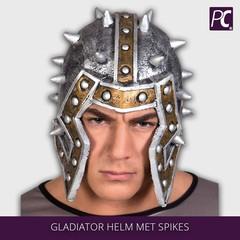 Gladiator helm met spikes