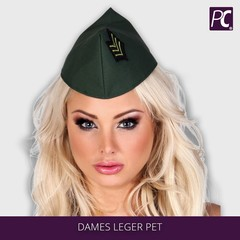 Dames leger pet