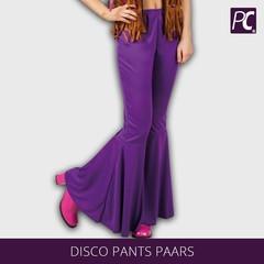 Disco broek paars