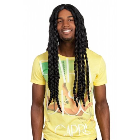 Dreadlocks pruik heren