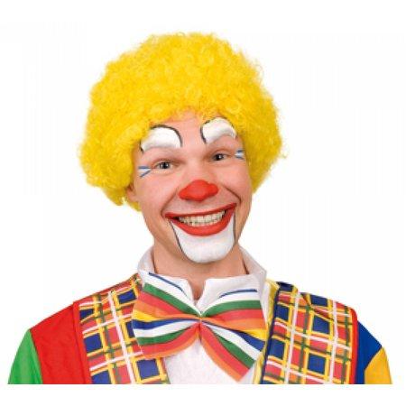 Clowns pruik geel kopen