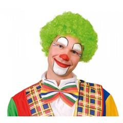 Groene clowns pruik