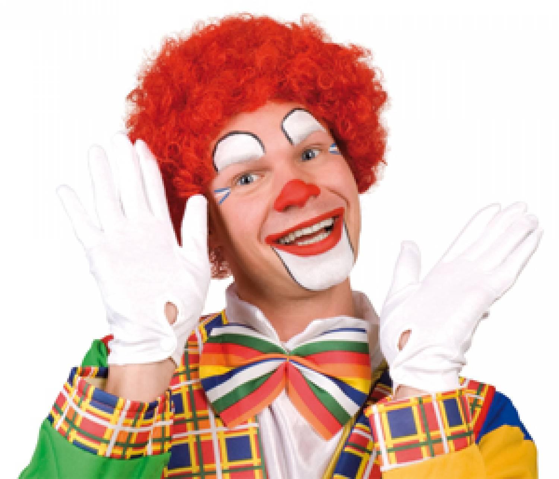 Rode Clownspruik Partycornernl