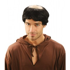 Pruik Bald monk