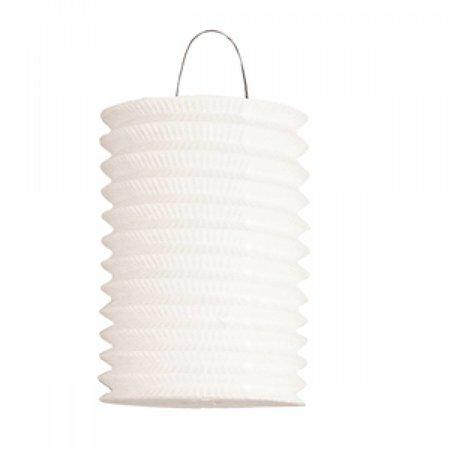 Lampion wit (16cm.)