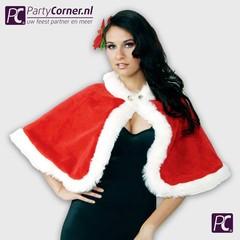 Luxe kerst cape