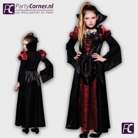 luxe Vampire Queen Kinderkostuum