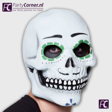 latex masker Senor Calavera