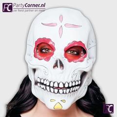 Latex masker Senora Calevera