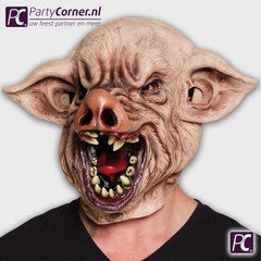 Horror varkenskop masker