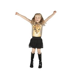 Hippie laarzen zwart voor kinderen