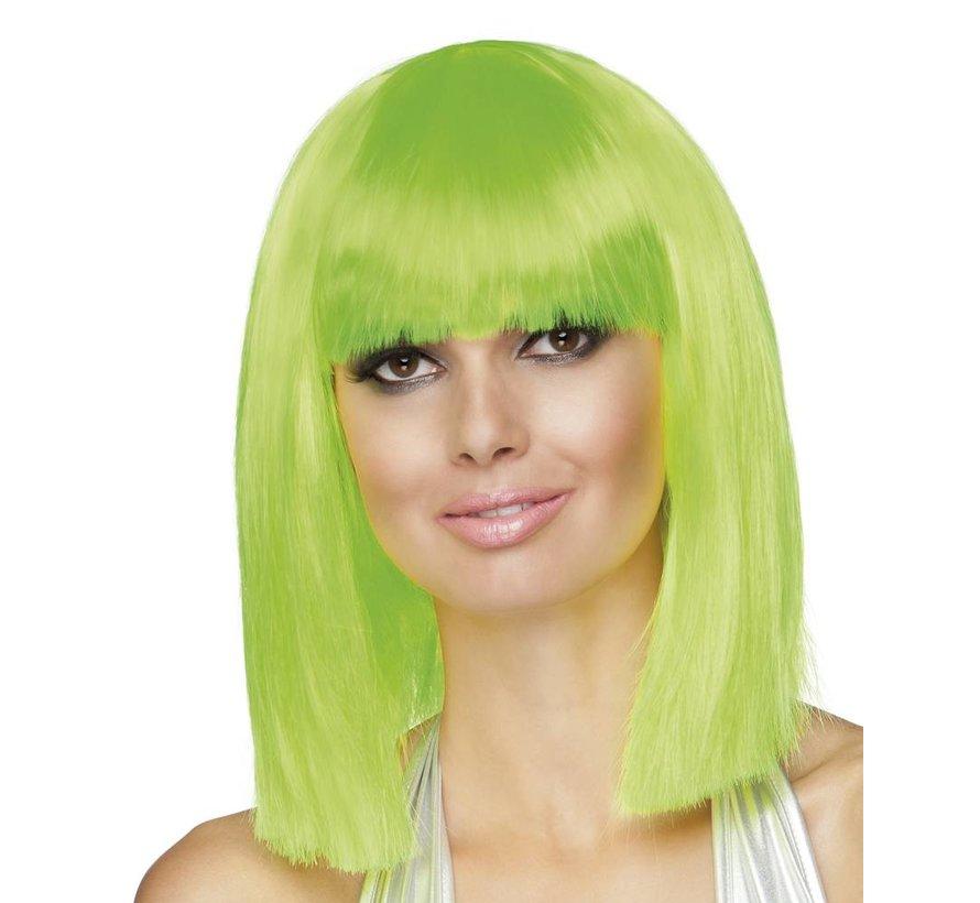 Bobline Pruik Neon groen
