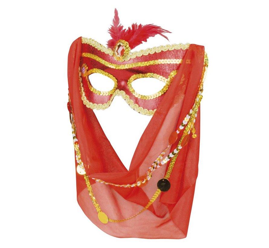 Arabische masker met sluier kopen