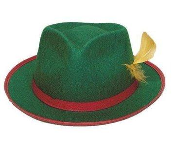 Tiroler hoed heren groen