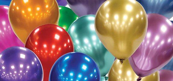 Latex chrome ballonnen