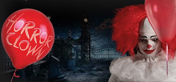 Horror Clown kostuums