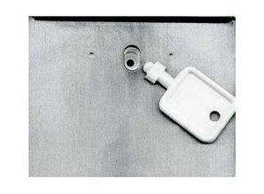 Santral Distributeur de savon en acier inoxydable avec revêtement anti-empreintes digitales