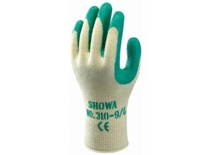 SHOWA Grip Green Gloves - Size XL