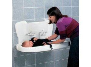 Vectair Babyverschoontafel Kunststof Design Horizontaal- WIT