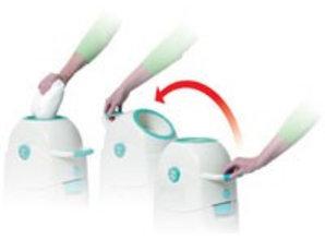 Diaperchamp Nappy bucket small