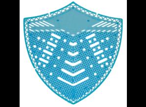HYSCON Urinal Screen Shield - Ocean Mist - Blue