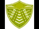 HYSCON Écran de protection pour urinoir - Pomme