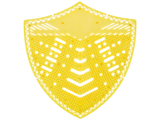 HYSCON Écran de protection pour urinoir - Super Citron Vert