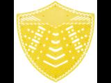 HYSCON Urinal Screen Shield - Super Lime