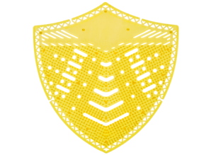HYSCON  Urinoirscherm Schild - Super Limoen