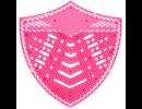 HYSCON Urinal Screen Shield - Melon