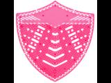 HYSCON Urinoirscherm Schild - Meloen