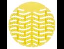 HYSCON Tapis d'urinoir 1.0 -  Citron
