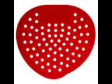 HYSCON Paravent urinoir classique - Cerise (Rouge)