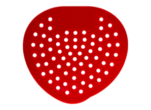 HYSCON Urinal screen classic - Cherry (Red)