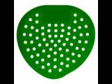 HYSCON Klassiek urinoirscherm - Citroen (Groen)