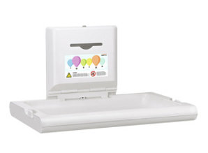 HYSCON Baby changing table horizontal white