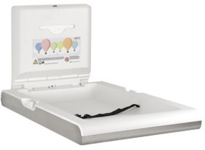 HYSCON Baby changing table vertical white